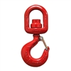 15T BB CROSBY ALLOY SWIVEL HOOK L3322 HOOK W/ LATCH 1028654