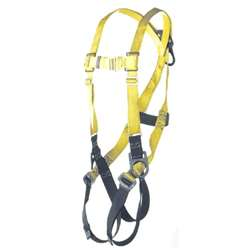 Xl Universal Harness 3 D-Ring w/  Adj. Pass Thru Buckle Legs