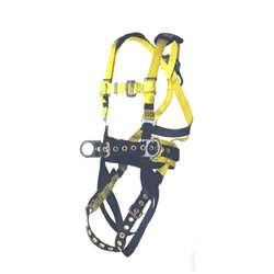 S-L Deluxe Harness 3 D-Ring w/  Adj. Tongue Buckle Legs