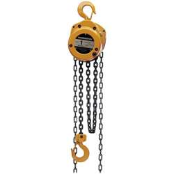 Harrington 5 Ton Chain Hoist w/ 15' Lift/13.5' Hand Chain