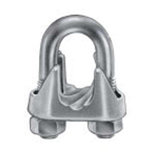 Quot g lt duty galvanized malleable wire rope clip