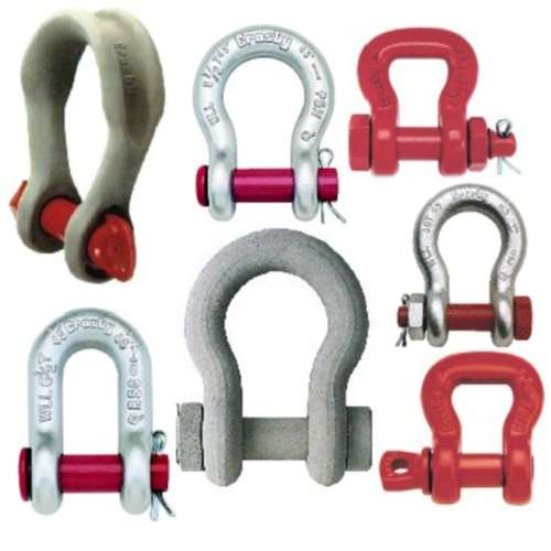 Chain Round Pin Wide Body Alloy Shackles Bairstow