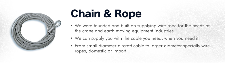 Wire Rope | Bairstow Lifting Products
